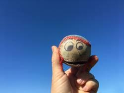 Old Funny Baseball