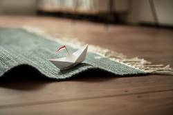 Sailing Home with Paper Boat