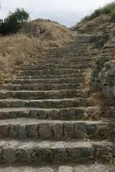 Treppen Akro-Korinth