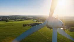 Moderne Windkraft