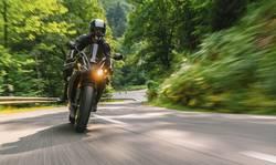 Motorradfahren in der Eifel