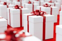 Geschenkpakete für Weihnachten