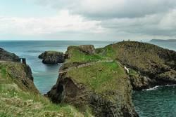 Hängebrücke Irland