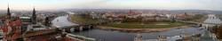 Panoramablick von der Frauenkirche