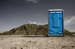 toilette im niemandsland II