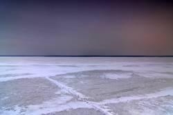 Betreten der Eisfläche auf eigene Gefahr