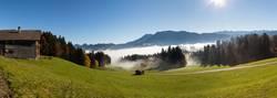 Herbststimmung oberhalb von Egg im Bregenzerwald