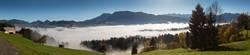 Nebelmeer über Egg