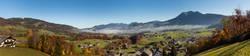 Schwarzenberg Panorama Richtung Osten