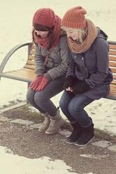 Kichern in der Kälte