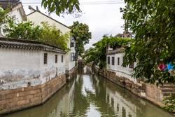 Kanal in Xitang