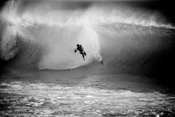 Wipe out at Supertubos, Peniche/Portugal