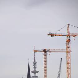 Baukräne   UT Hamburg