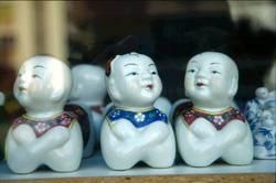 Chinesische Fenstergucker
