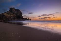 Lion Rock Sunset - New Zealand