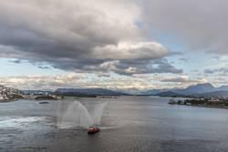Hafenparty Alesund (Norwegen)