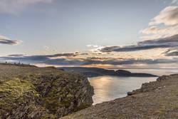 Landschaften am Nordkap