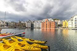 Alesund Stadtzentrum (Norwegen)