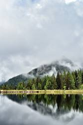 Dem Berg einen Spiegel vorhalten