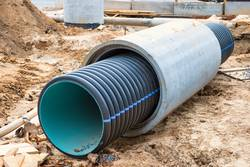 Big pipe or tube for water sewer