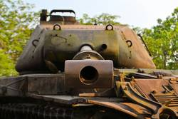 US Army Tank used during the Vietnam War