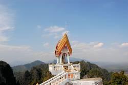 Sacred Buddhist mountain peak Sanctuary