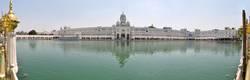 Sikh Golden Temple with pond, Amritsar, Punjab, India