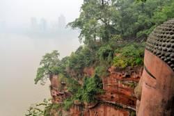 largest stone Buddha in the world, China
