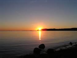 Rügener Sonnenuntergang II