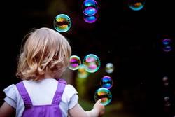 Bubbles - Seifenblasen fangen