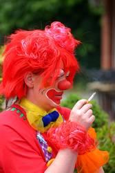Rauchende Clowns