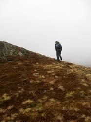 Nebelige Wanderung