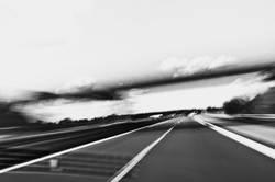 On the road — Auf der Autobahn