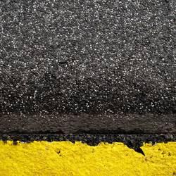 kornfeld mit asphalt sternhimmel