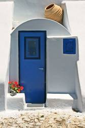 Blau - weiss , die Farben Santorinis
