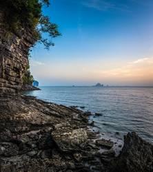 Felsküste Thailand