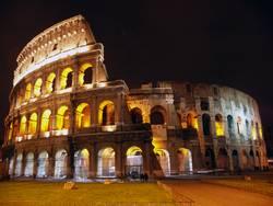 Kolosseum bei Nacht- Rom ( Collosseum )