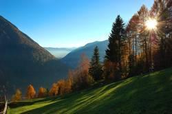 Ahornach im Herbst