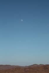 Mondaufgang über dem Atlas