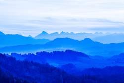 Aussicht Berglandschaft