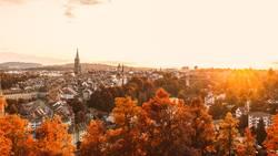 Berner Altstadt im Herbst