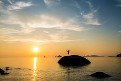 Sonnenuntergang in Koh Lipe