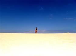 so viel Sand und keine Förmchen!