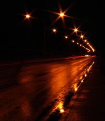 Lichter der Straße