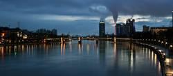 Nachts wenn der Fluss leuchtet...