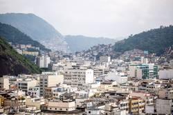 Favela in der Ferne