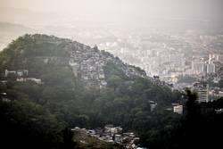 Favela in der Stadt