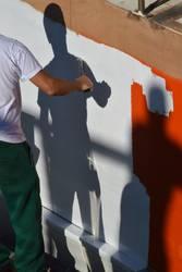 shadowpainter | Immer an der Wand lang