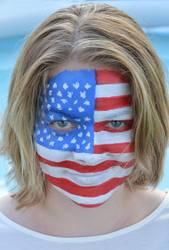 amerikanisches Mädel