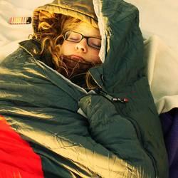 + schlafender Hamster in freier Natur +